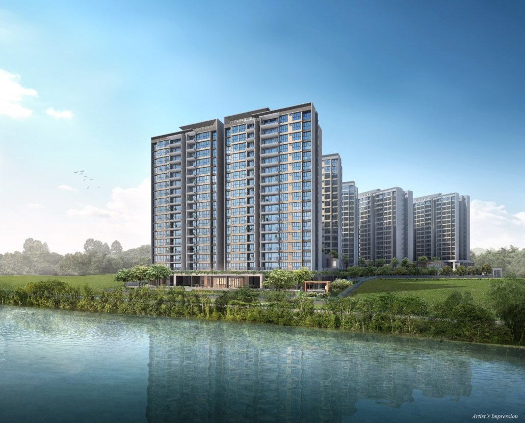 Rivercove Residences Main Perspective